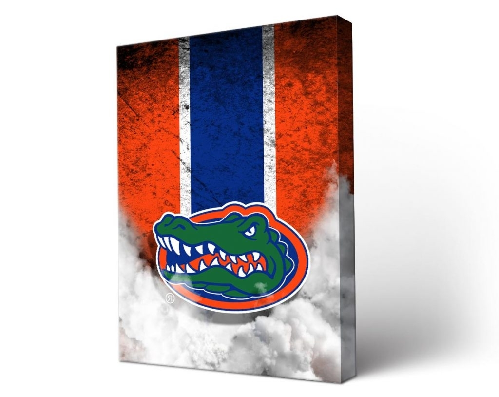 Florida Gator Wall Art With Regard To Most Up To Date Download Florida Gator Wall Art (View 7 of 15)