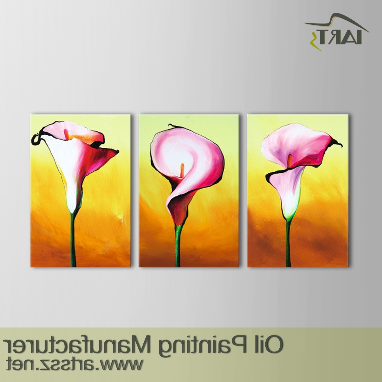 Flower Art Oil Painting,flower Art Oil Painting,chinese Wall Oil For Popular 3 Piece Floral Wall Art (View 10 of 15)