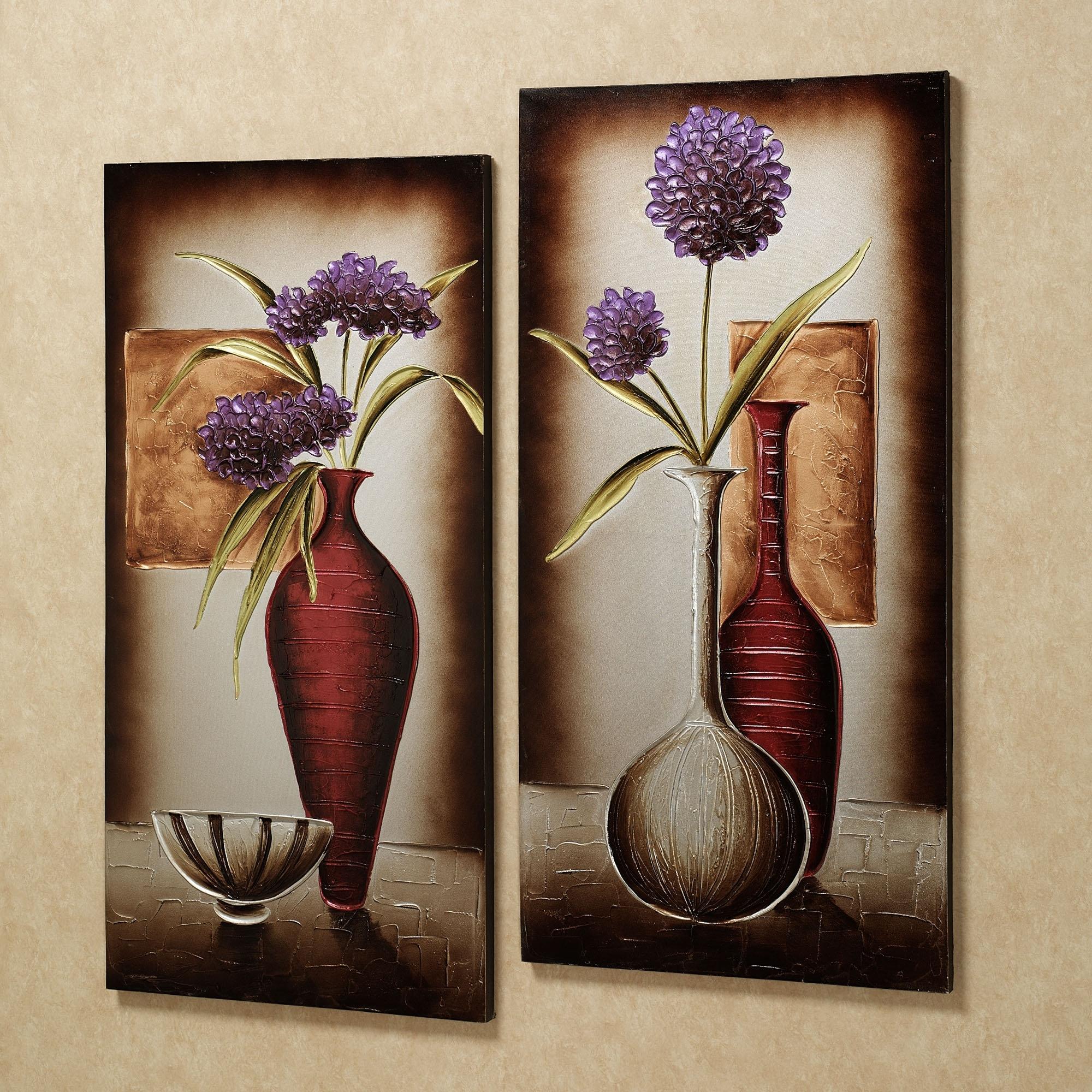 Flower On Canvas Wall Art – Edu9841 #273C6D4667A3 Throughout Popular Flower Wall Art Canvas (View 7 of 15)
