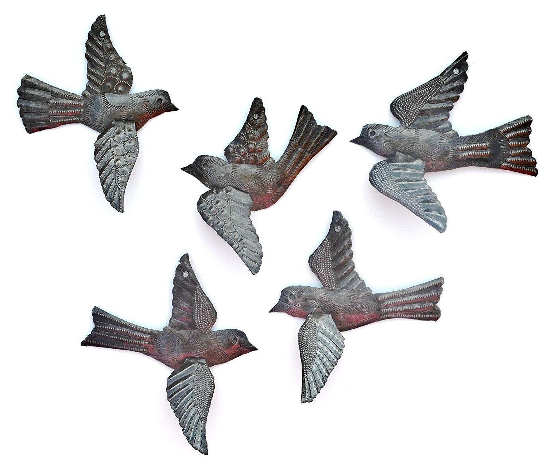 Flying Birds Metal Wall Art: Beautiful Birds For Wall Regarding Latest Metal Flying Birds Wall Art (View 15 of 15)