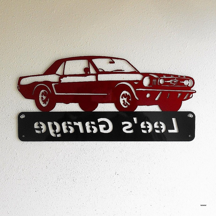 Ford Mustang Metal Wall Art Pertaining To Best And Newest Personalized Metal Wall Art Awesome 20 Ideas Of Ford Mustang Metal (View 9 of 15)