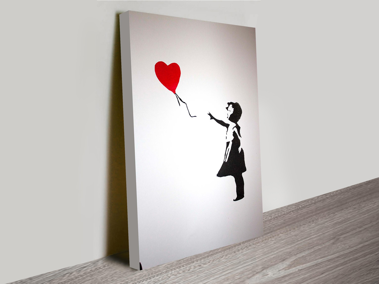 Framed Banksy Street Art (View 11 of 15)