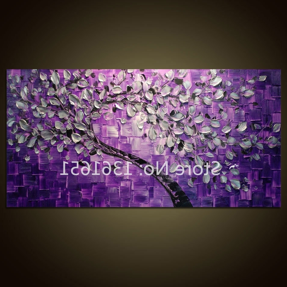 [%Free Shipping 100% Hand Painted Oil Painting Abstract Wall Art Inside Well Known Purple And Grey Abstract Wall Art|Purple And Grey Abstract Wall Art With 2017 Free Shipping 100% Hand Painted Oil Painting Abstract Wall Art|Preferred Purple And Grey Abstract Wall Art Within Free Shipping 100% Hand Painted Oil Painting Abstract Wall Art|Preferred Free Shipping 100% Hand Painted Oil Painting Abstract Wall Art With Purple And Grey Abstract Wall Art%] (View 1 of 15)