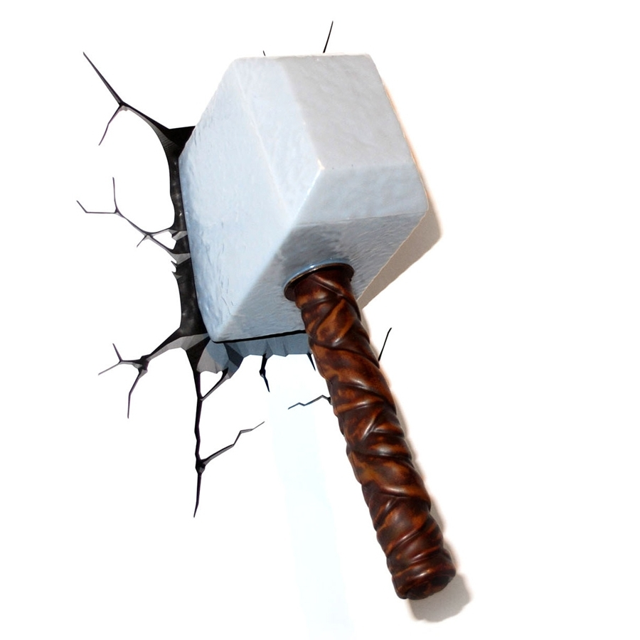 Article 3d Nightlight Thor Hammer