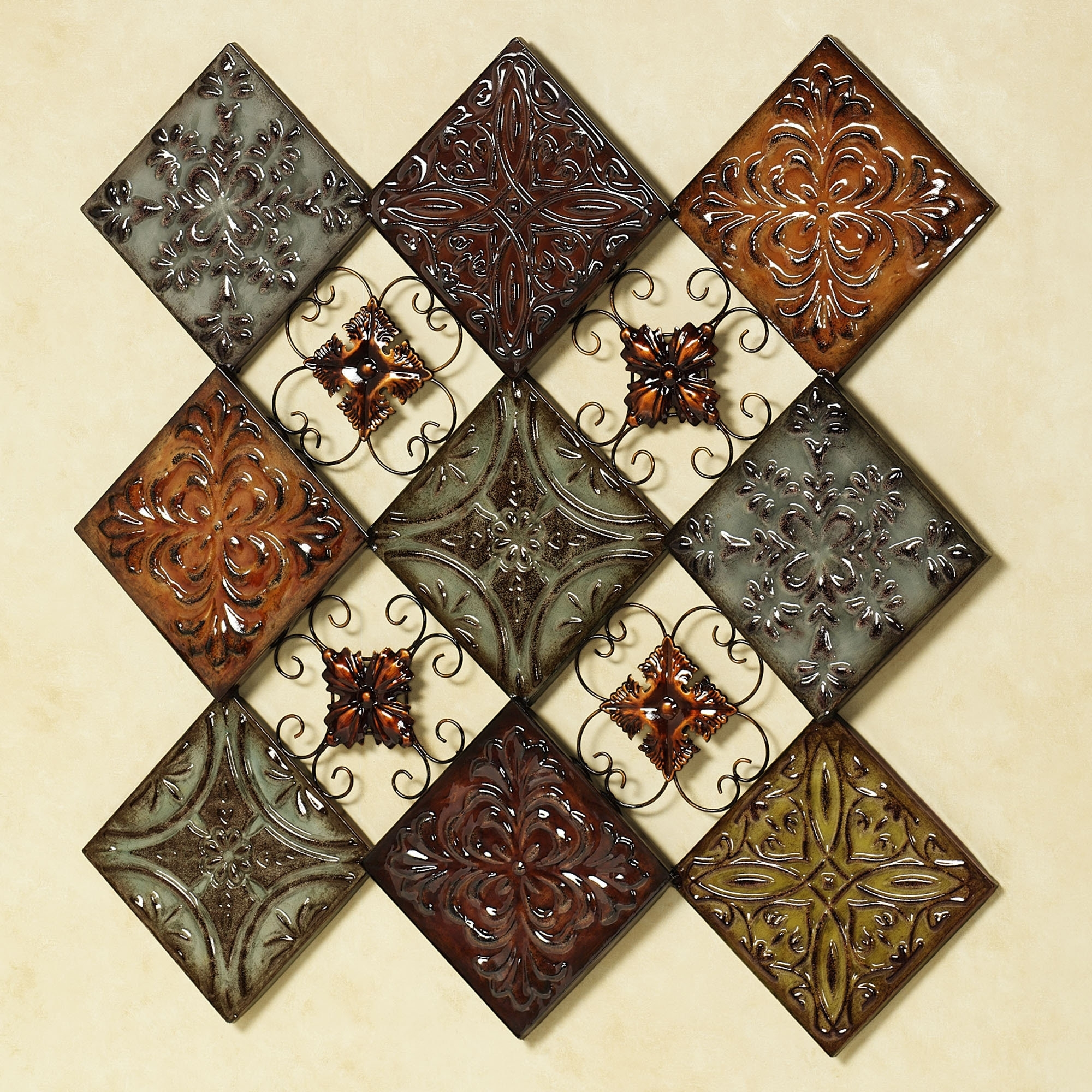 20 Choices Of Medallion Tiles Wall Art Ideas
