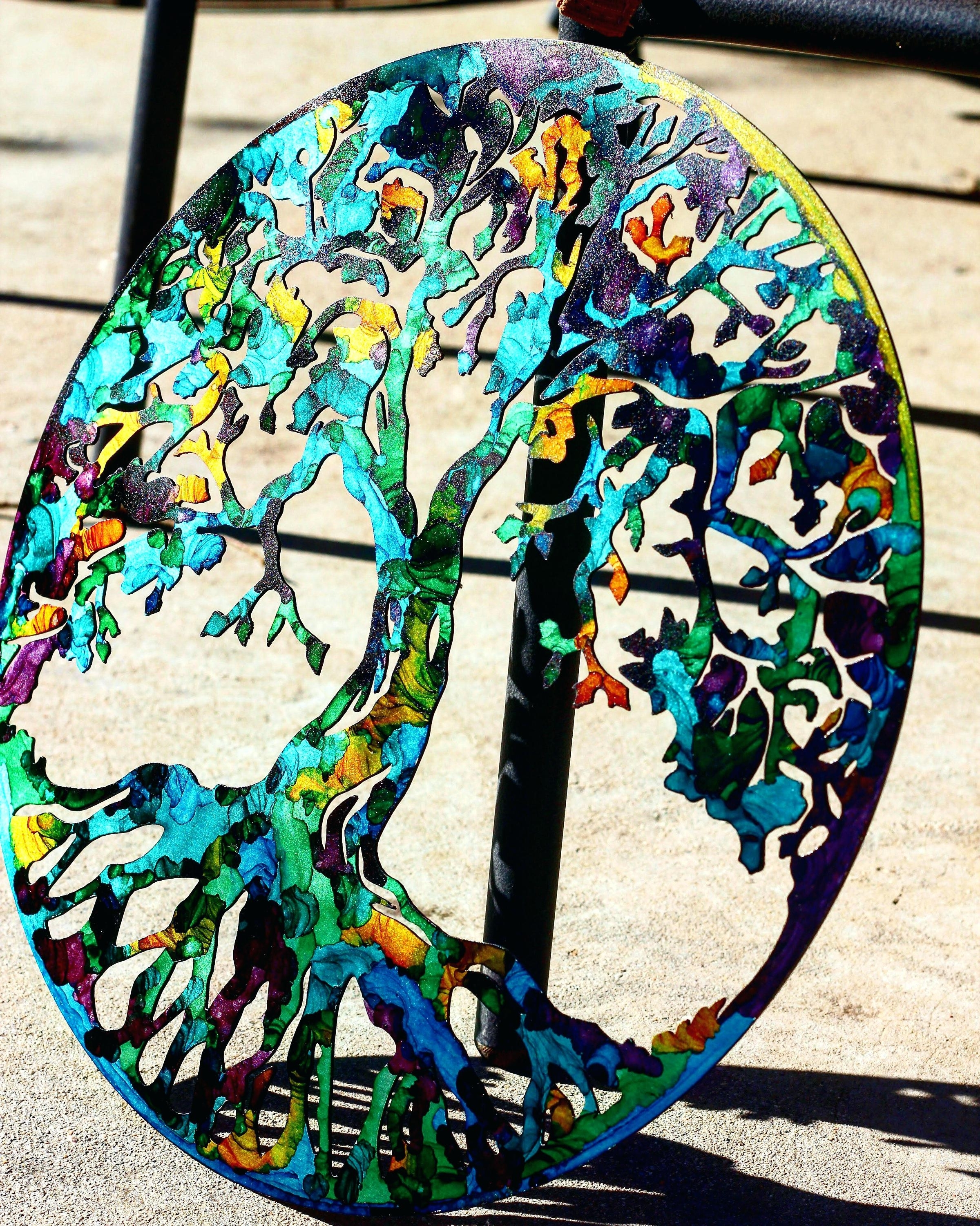Fused Glass And Metal Wall Art Within Latest Stained Glass Wall Hangings Best Ceramic And Fused Glass Wall Art (View 8 of 15)