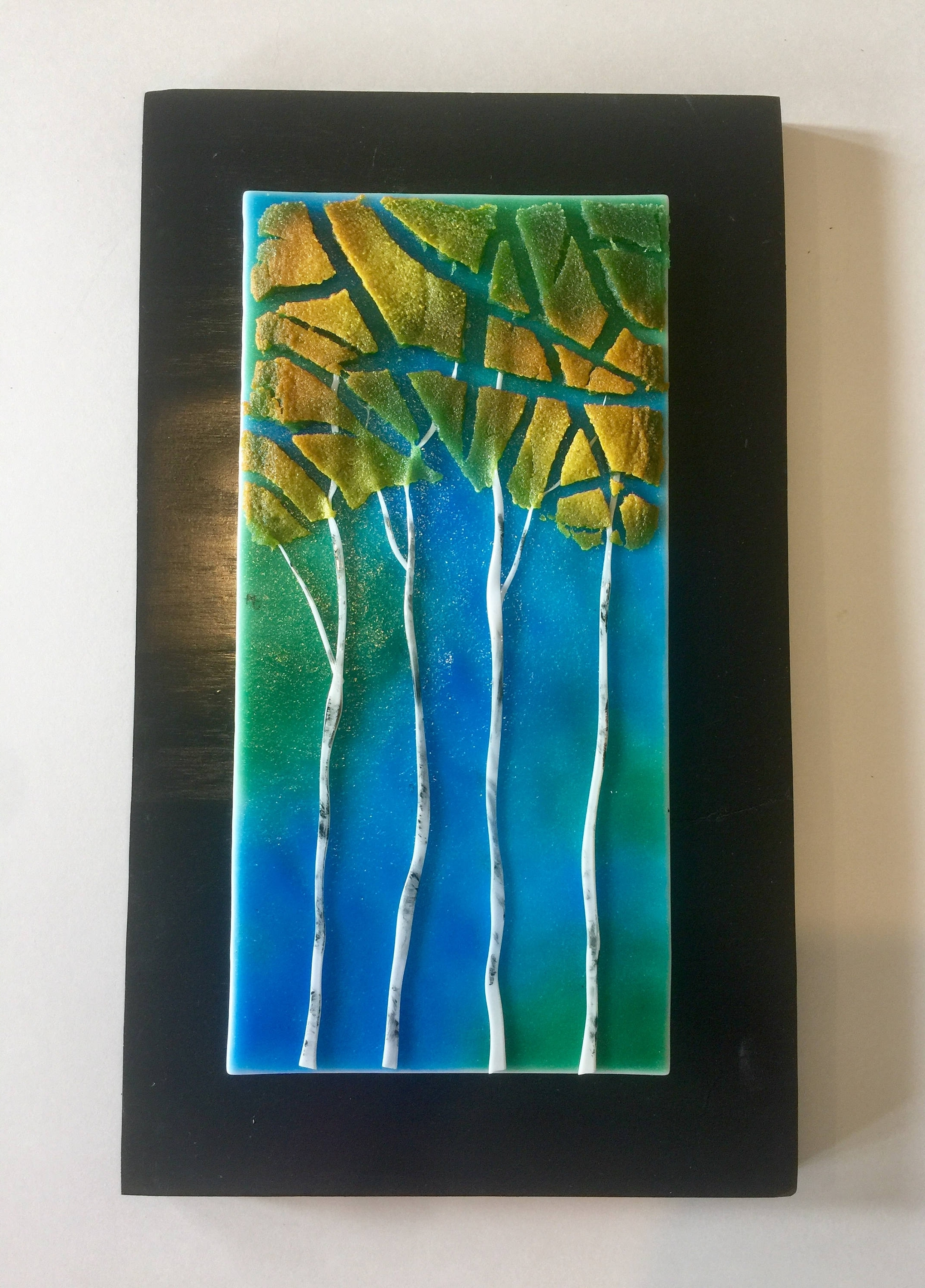 Fused Glass Art For Walls In Fashionable Fused Glass Art, Fused Glass, Handmade Fused Glass,fused Glass (View 3 of 15)
