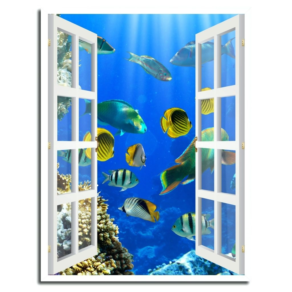 Fused Glass Fish Wall Art For Trendy Wall Arts ~ Metal And Glass Fish Wall Art Glass Fish Wall Art Uk (View 7 of 15)