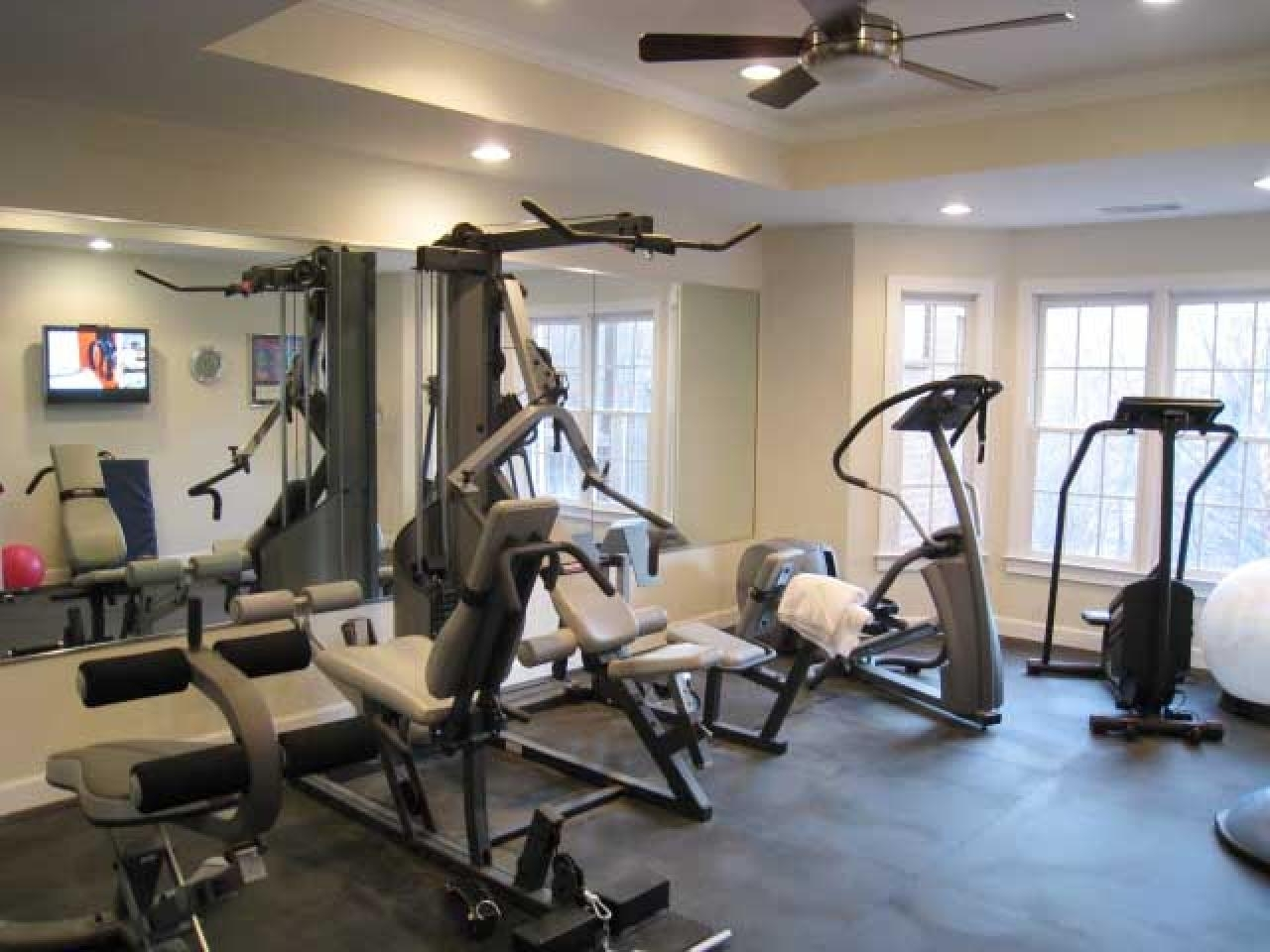 Gallery Of Luxury Home Gym Design Throughout Favorite Kohl's Metal Wall Art (View 5 of 15)