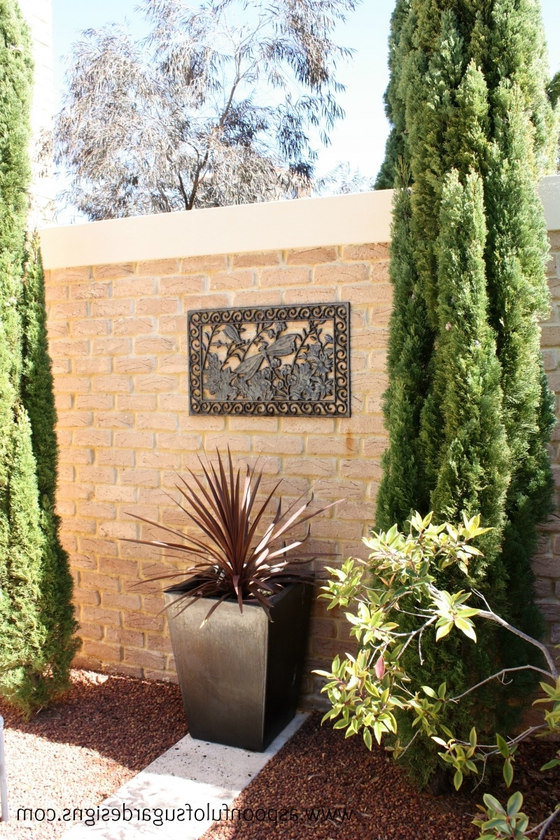 Garden Wall Art – A Spoonful Of Sugar Throughout Well Liked Garden Wall Art (View 6 of 15)