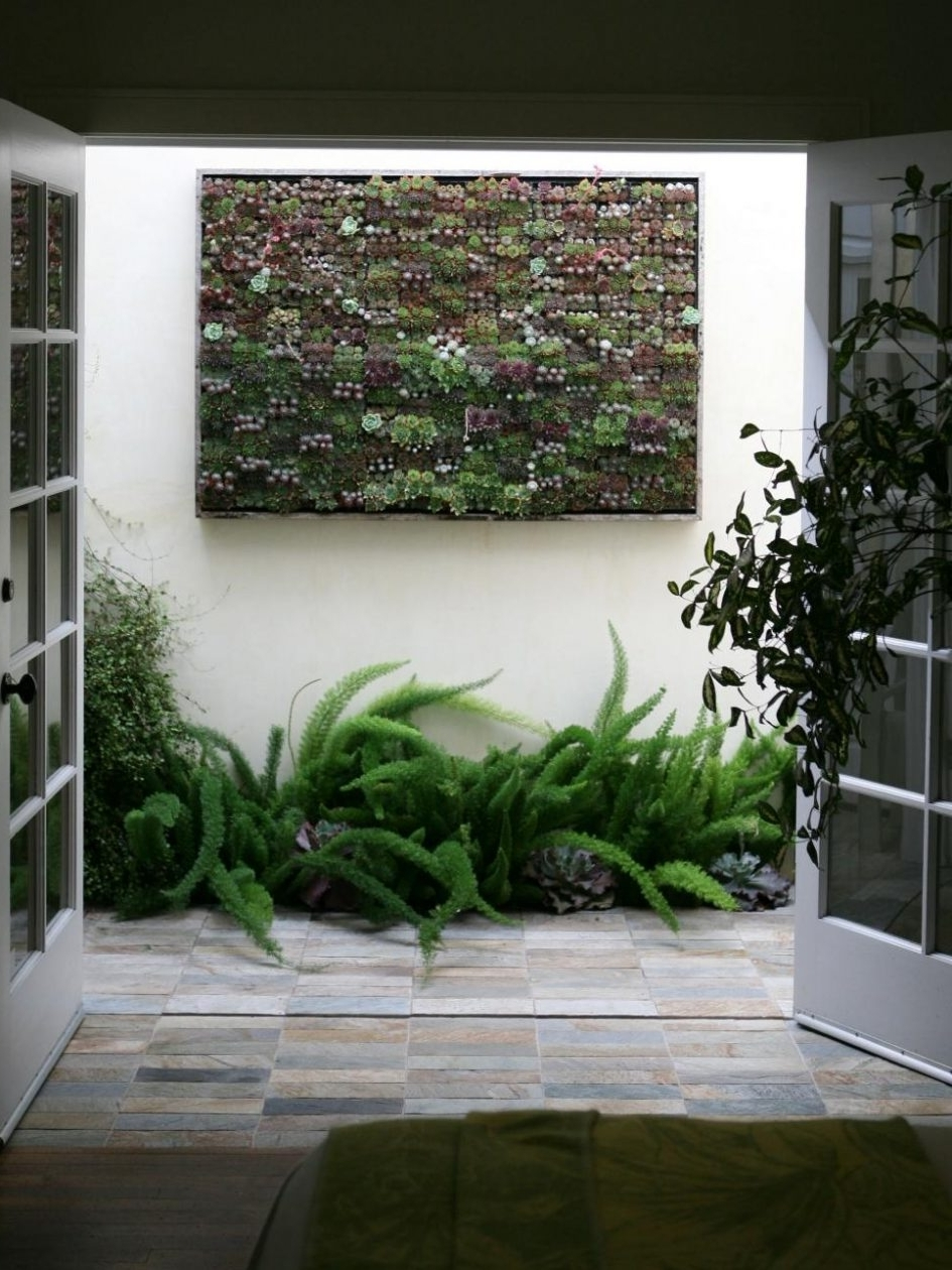 Top 15 of Outside Wall Art on Outdoor Garden Wall Art Ideas id=65171