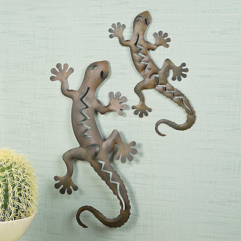 Gecko Outdoor Wall Art Inside Well Known Gecko Wall Decor Ideas: Gecko Metal Wall Art (View 4 of 15)