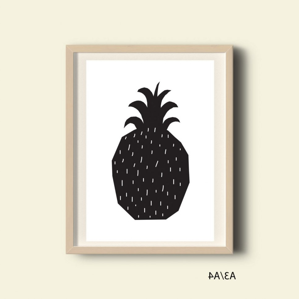 Gingerbread Kitchen Decor Pineapple Decor Australia Pineapple Within 2018 Pineapple Metal Wall Art (View 6 of 15)