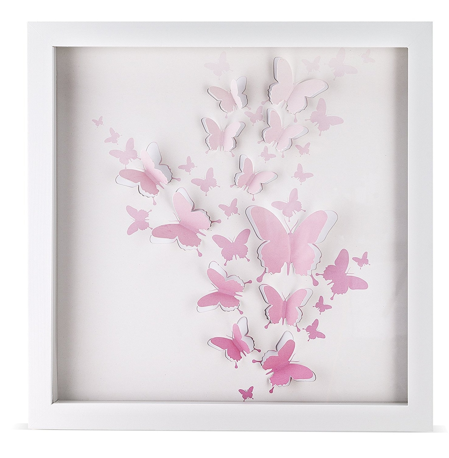 Featured Photo of 3D Butterfly Framed Wall Art