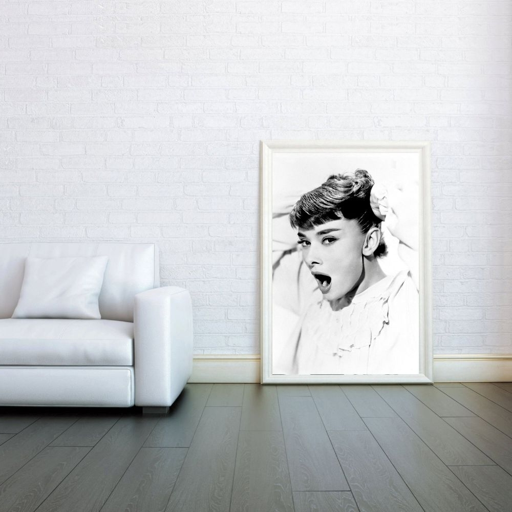 Glamorous Audrey Hepburn Wall Art Intended For Widely Used Extraordinary 10+ Audrey Hepburn Wall Art Inspiration Design Of (View 9 of 15)
