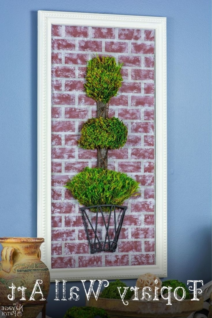 Good Ideas, Botanical With Regard To Topiary Wall Art (Gallery 12 of 15)