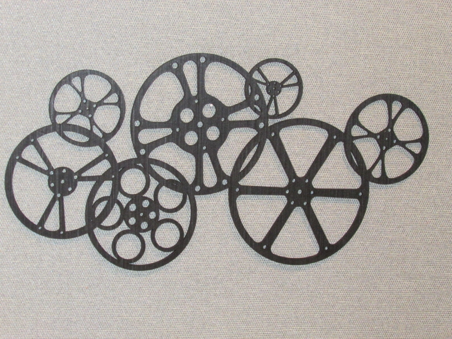 Gorgeous Movie Reel Wall Art Pertaining To Most Current Film Reel Wall Art (View 4 of 15)