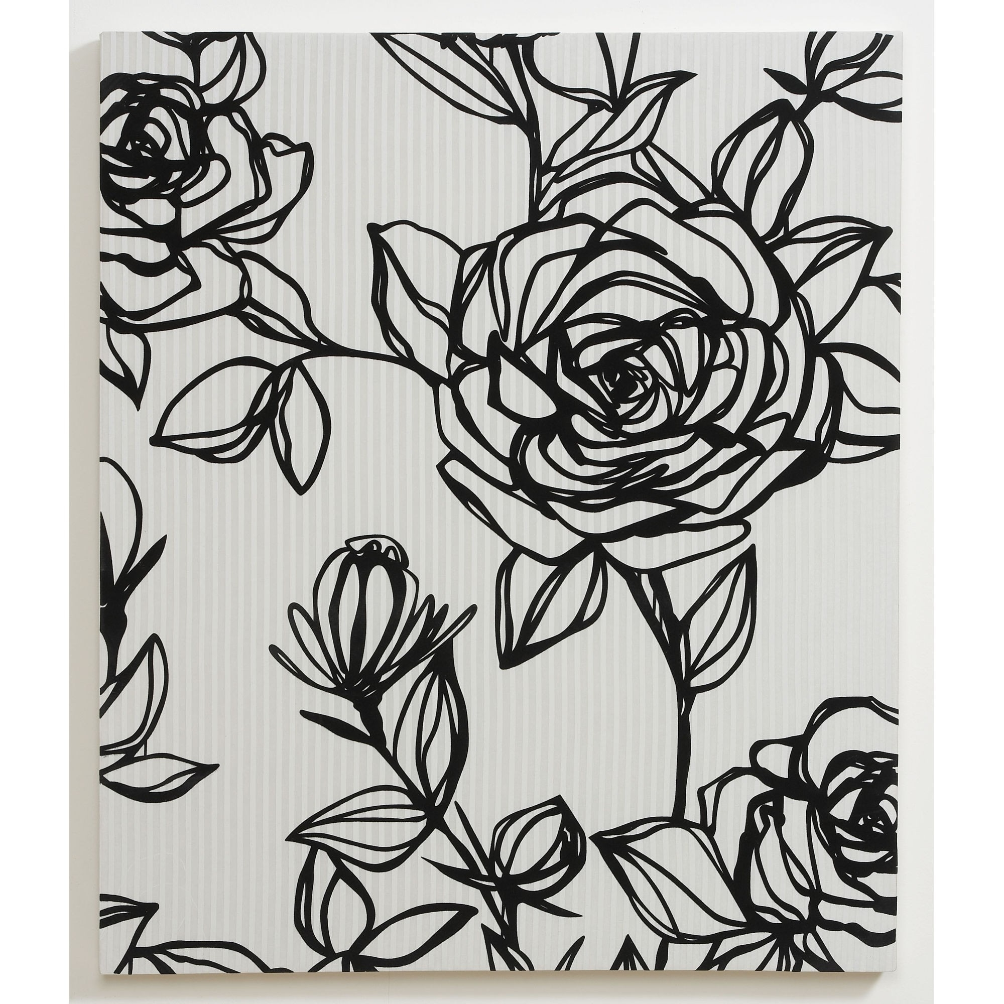 Graham & Brown Flocked Rose Fabric Wall Art – 42628 Throughout Famous Graham & Brown Wall Art (Gallery 15 of 15)