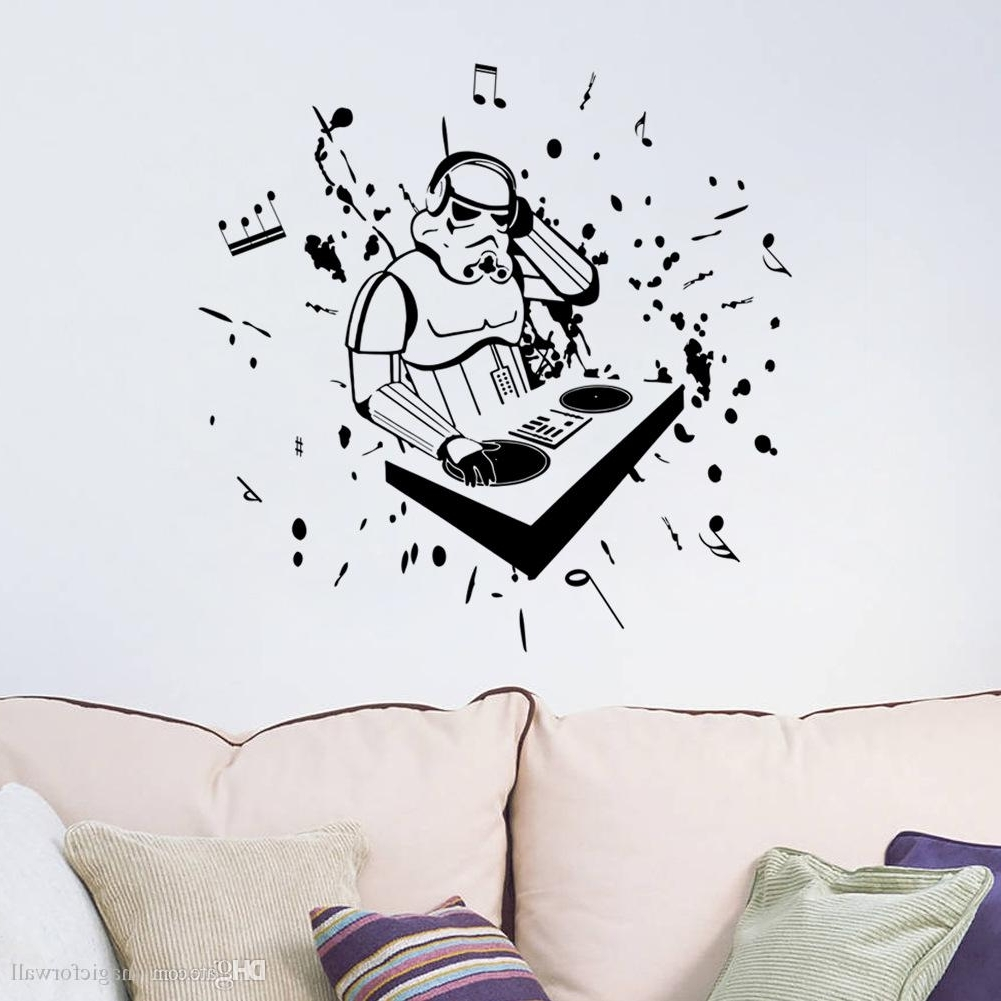 Grand New Wall Decor Music Is Life Family Wall Decal Quotes Note Regarding Most Up To Date Music Note Wall Art (Gallery 13 of 15)