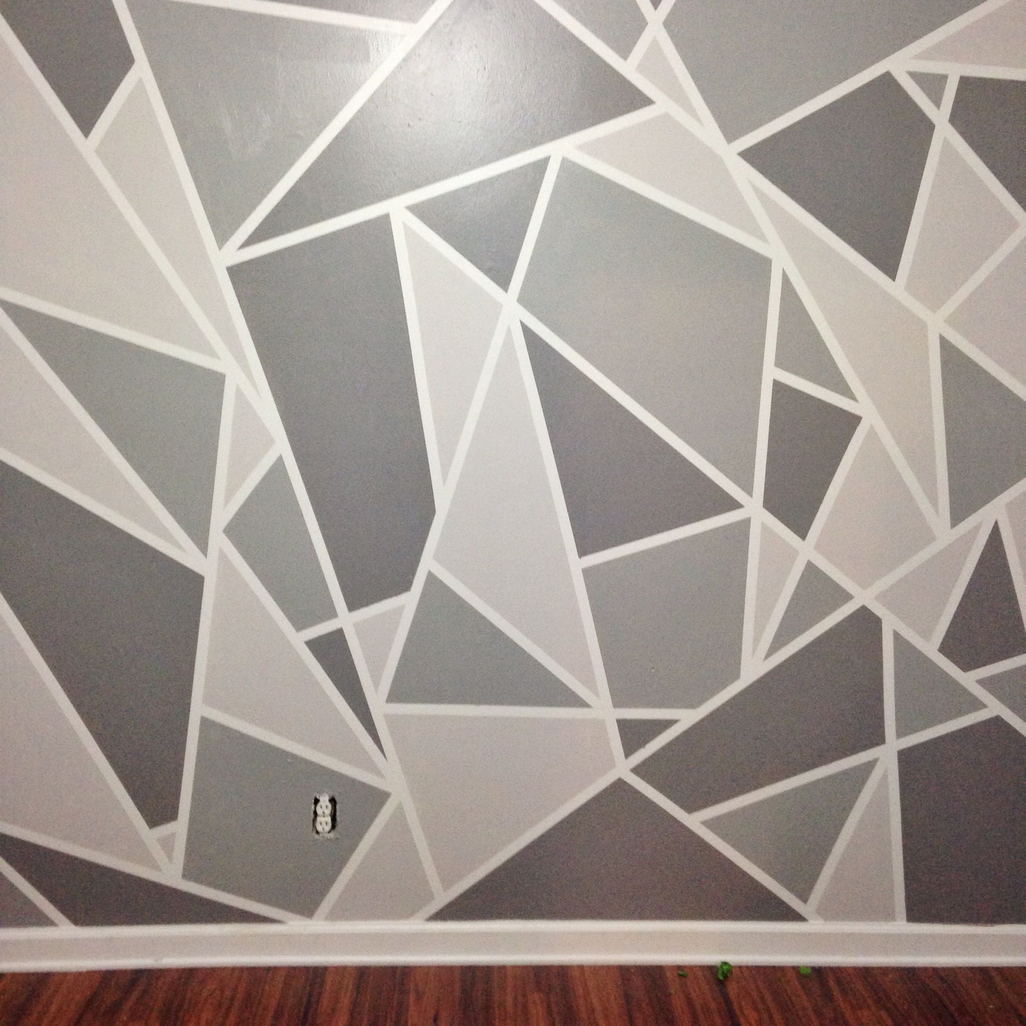 Gray Intended For 3D Triangle Wall Art (View 7 of 15)