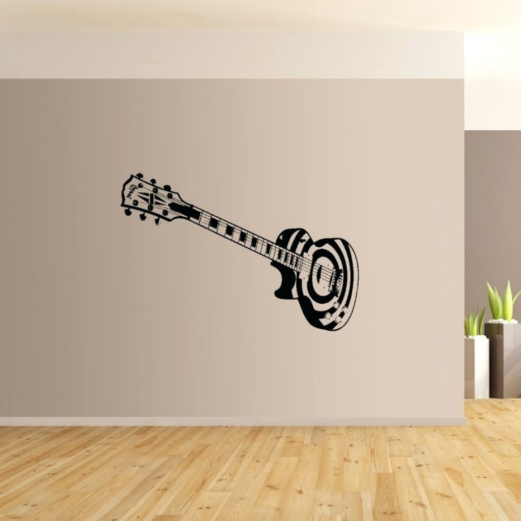 Guitar Metal Wall Art Within Most Up To Date Wall Arts Guitar Metal Wall Art Uk Strings Rock The World Metal (View 4 of 15)