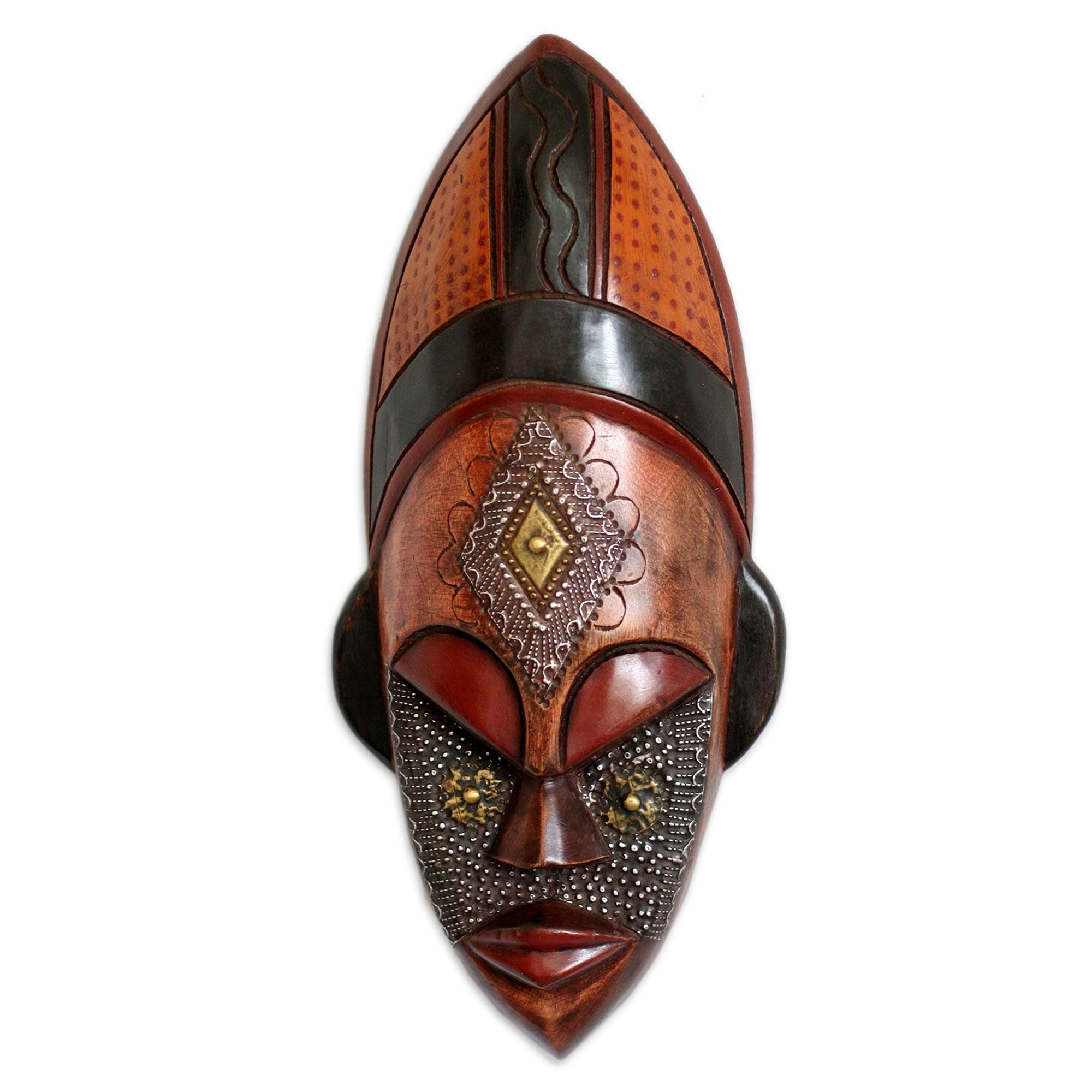 Hand Crafted Ivory Coast Mask, 'dan Beauty' (View 1 of 15)