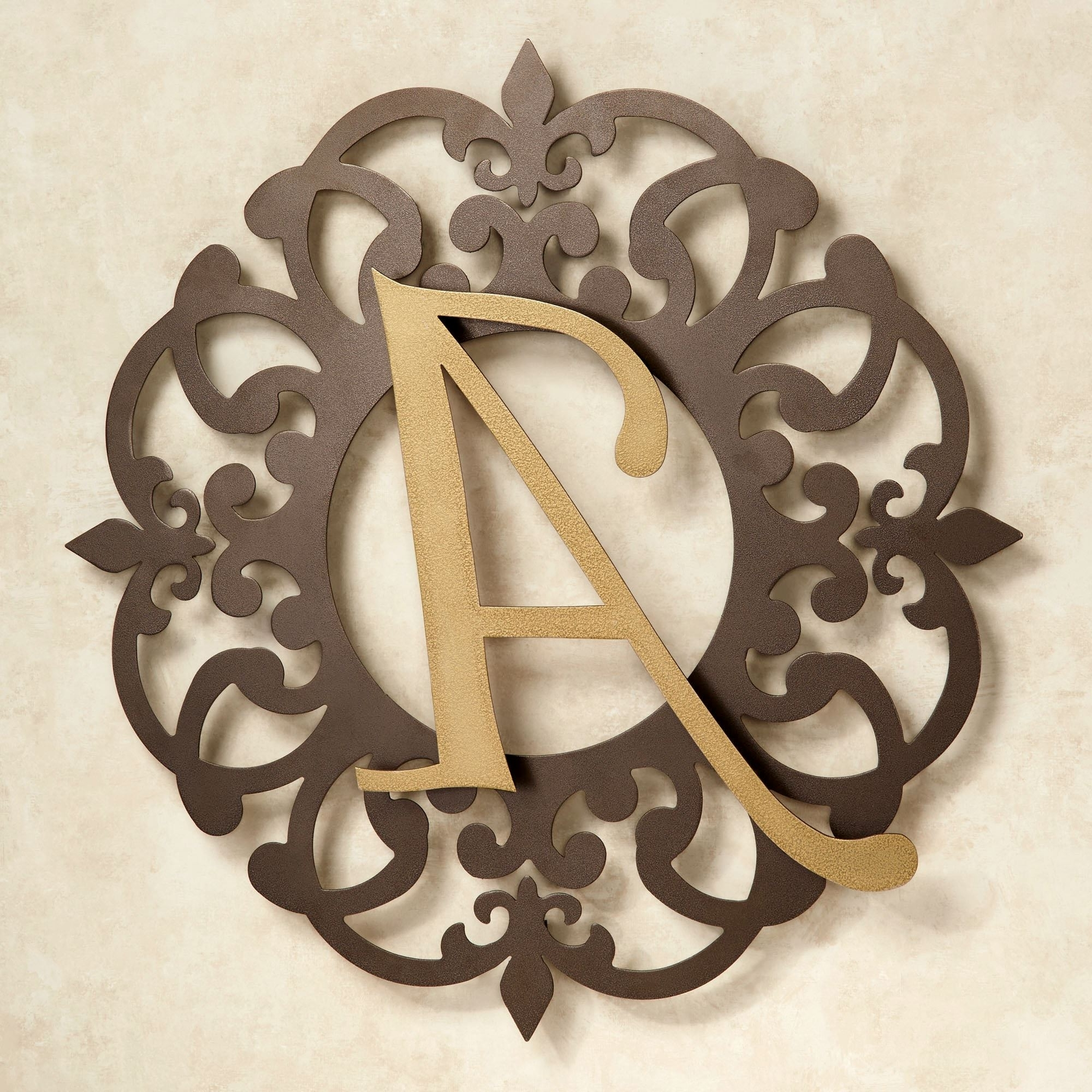 Heritage Monogram Metal Wall Art Signjasonw Studios Throughout 2018 Monogram Metal Wall Art (View 6 of 15)