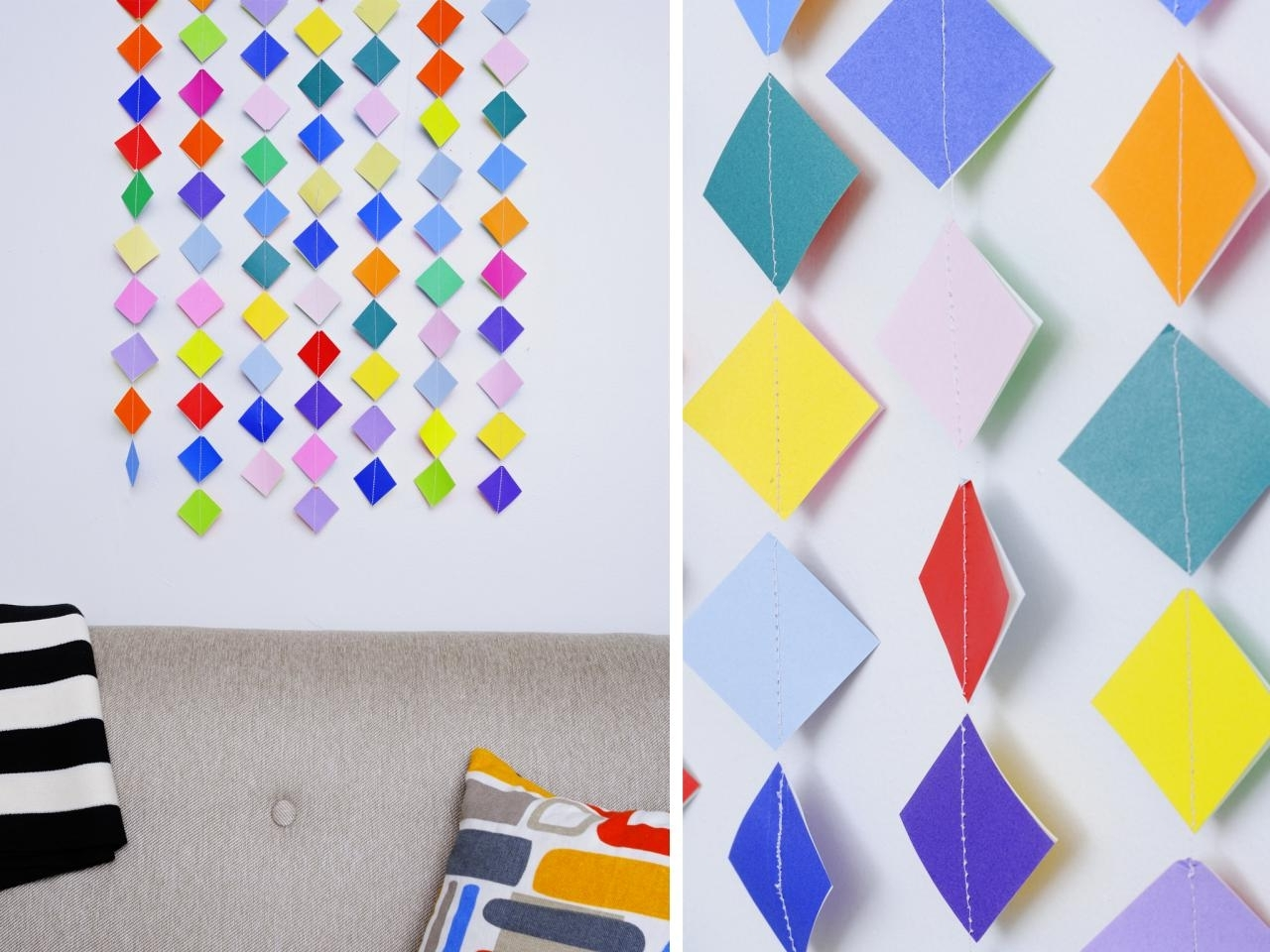 Hgtv Intended For Diy Origami Wall Art (Gallery 10 of 15)
