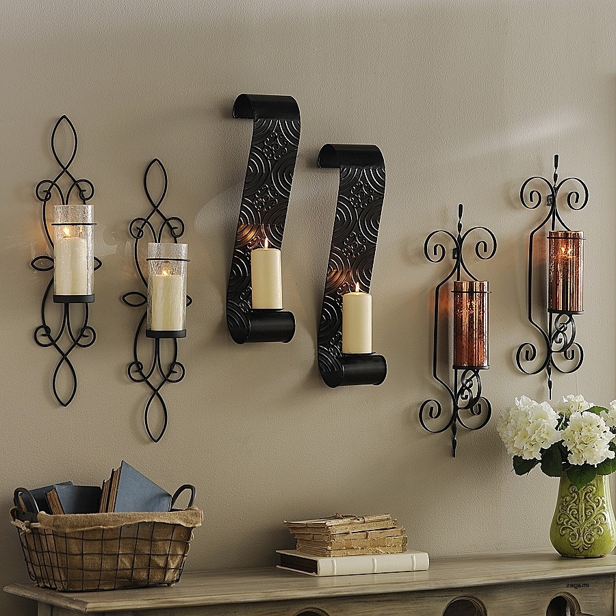 Holder Large Wall Candle Holders Best Of Wall Art Candles Tags Within Most Popular Metal Wall Art With Candles (View 5 of 15)