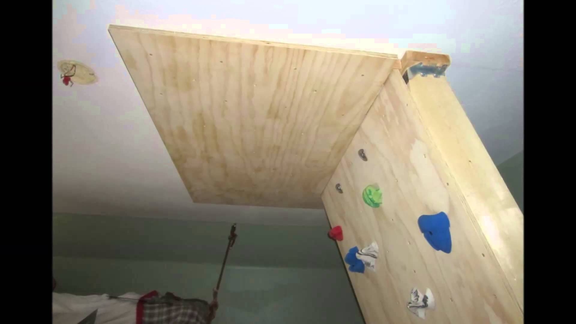 Home Bouldering Wall Design Throughout Most Recently Released Diy Home Bouldering Wall – Youtube (View 8 of 15)