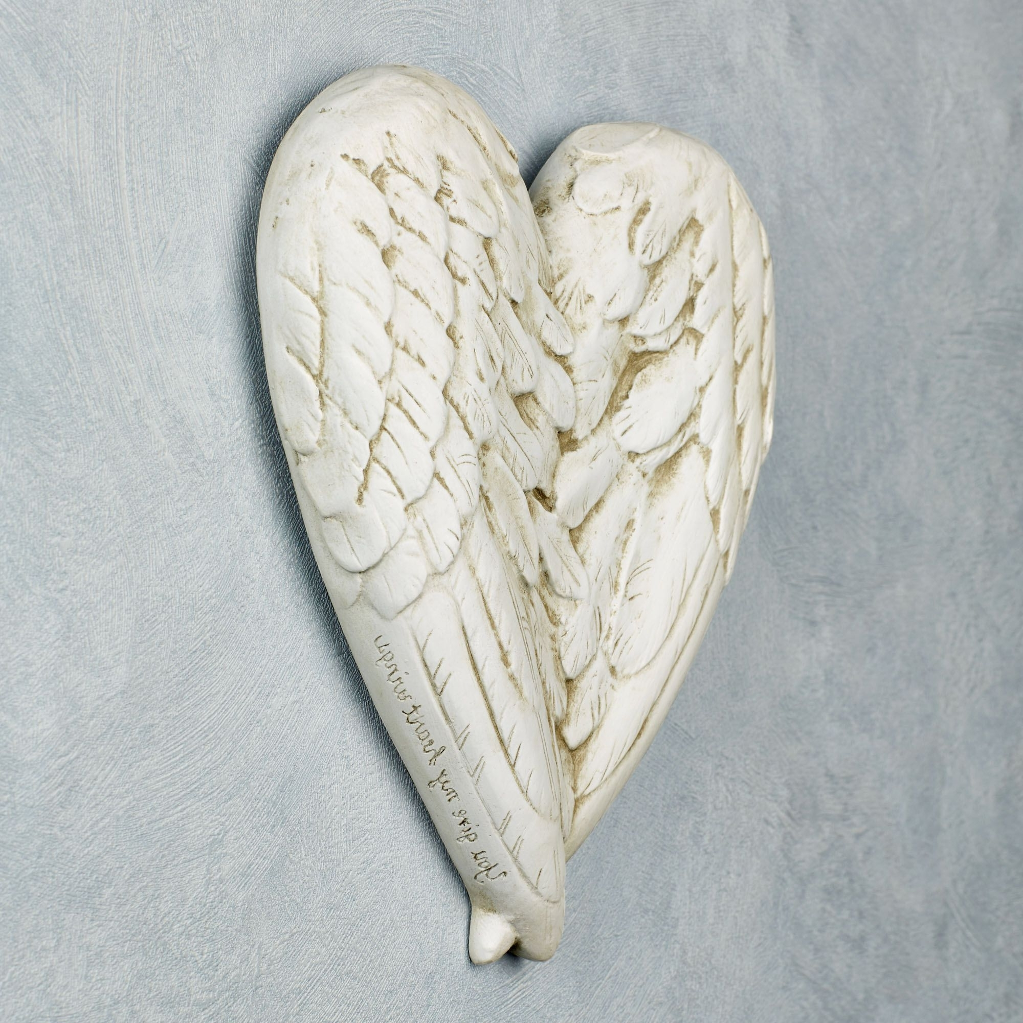 Home Decor And Design : Angel Regarding Well Known Angel Wings Sculpture Plaque Wall Art (Gallery 2 of 15)