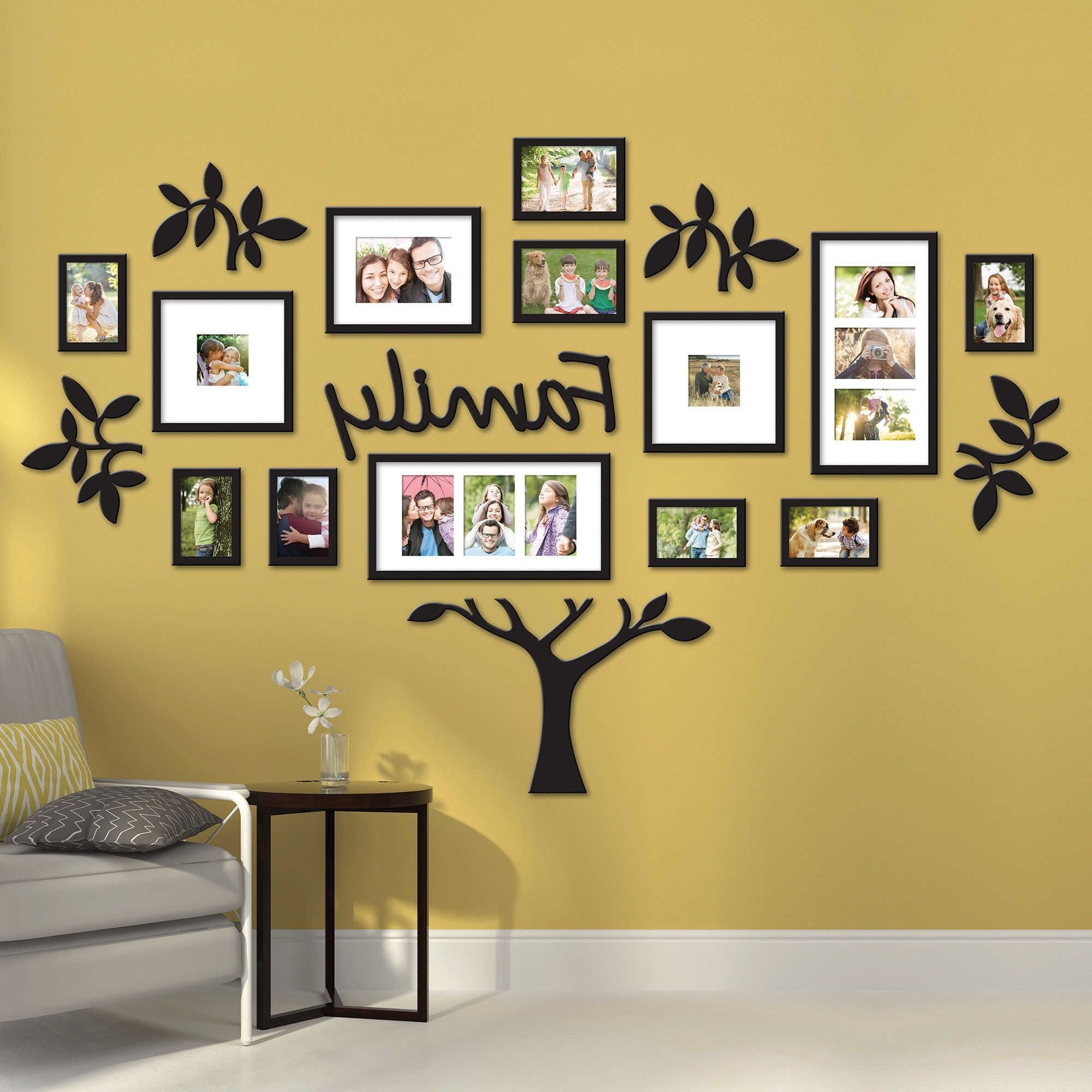 Exelent Wall Art Photo Frames Ideas - The Wall Art Decorations ...
