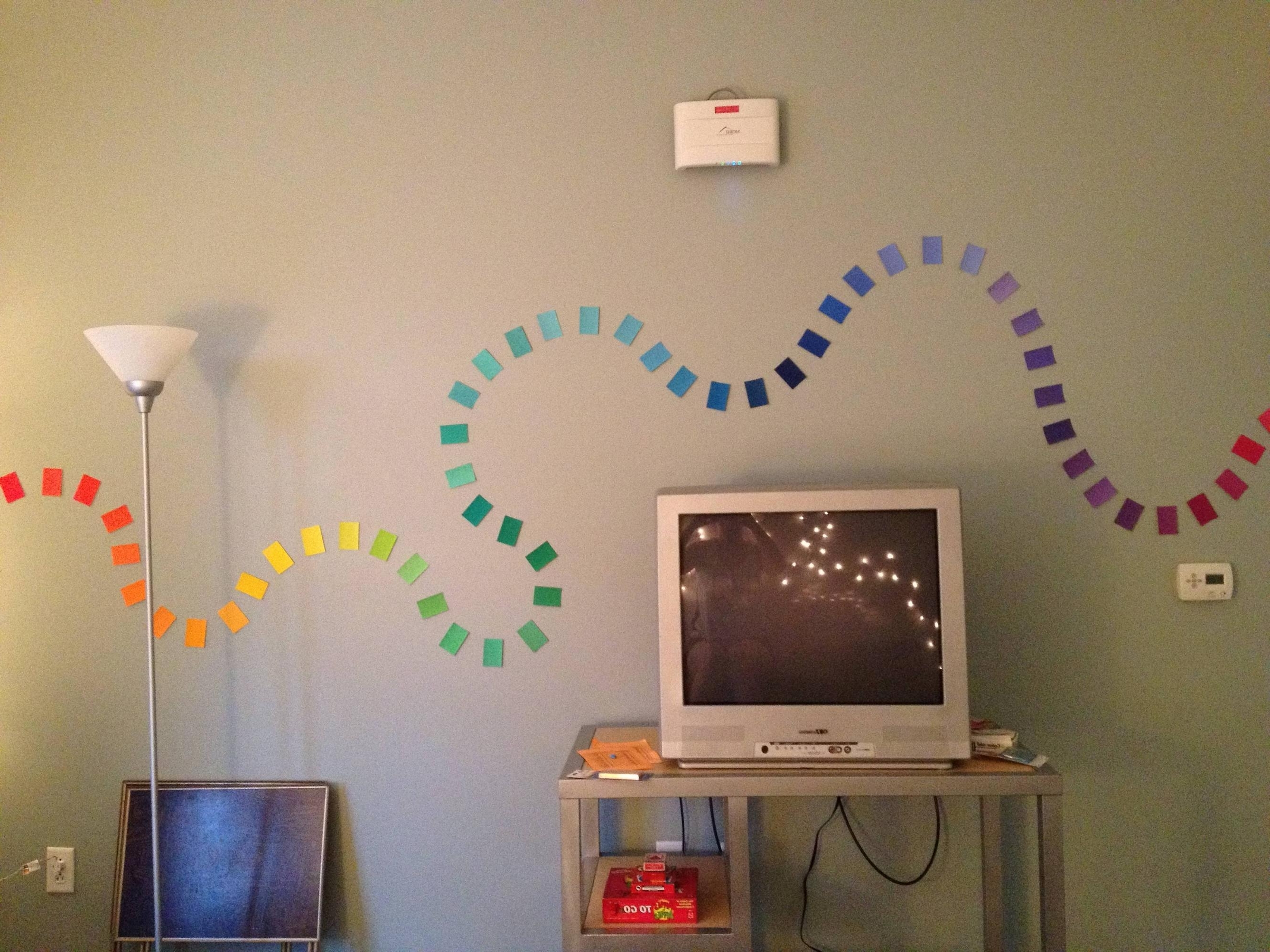 Home Decorating With Regard To Newest Paint Swatch Wall Art (Gallery 4 of 15)