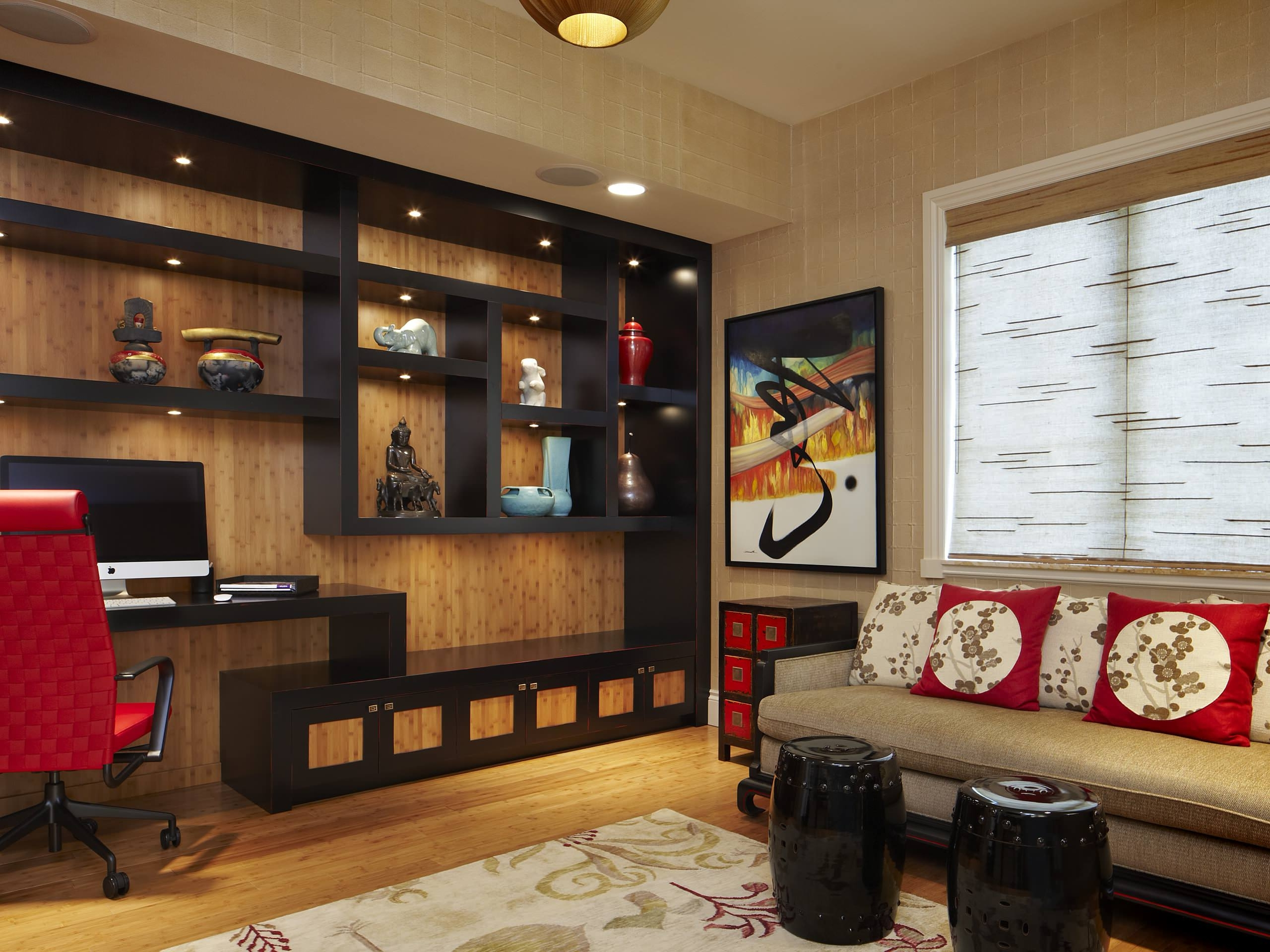 Home Design: Mid Century Modern Shelving With Masculine Wall Art With Well Known Masculine Wall Art (Gallery 9 of 15)