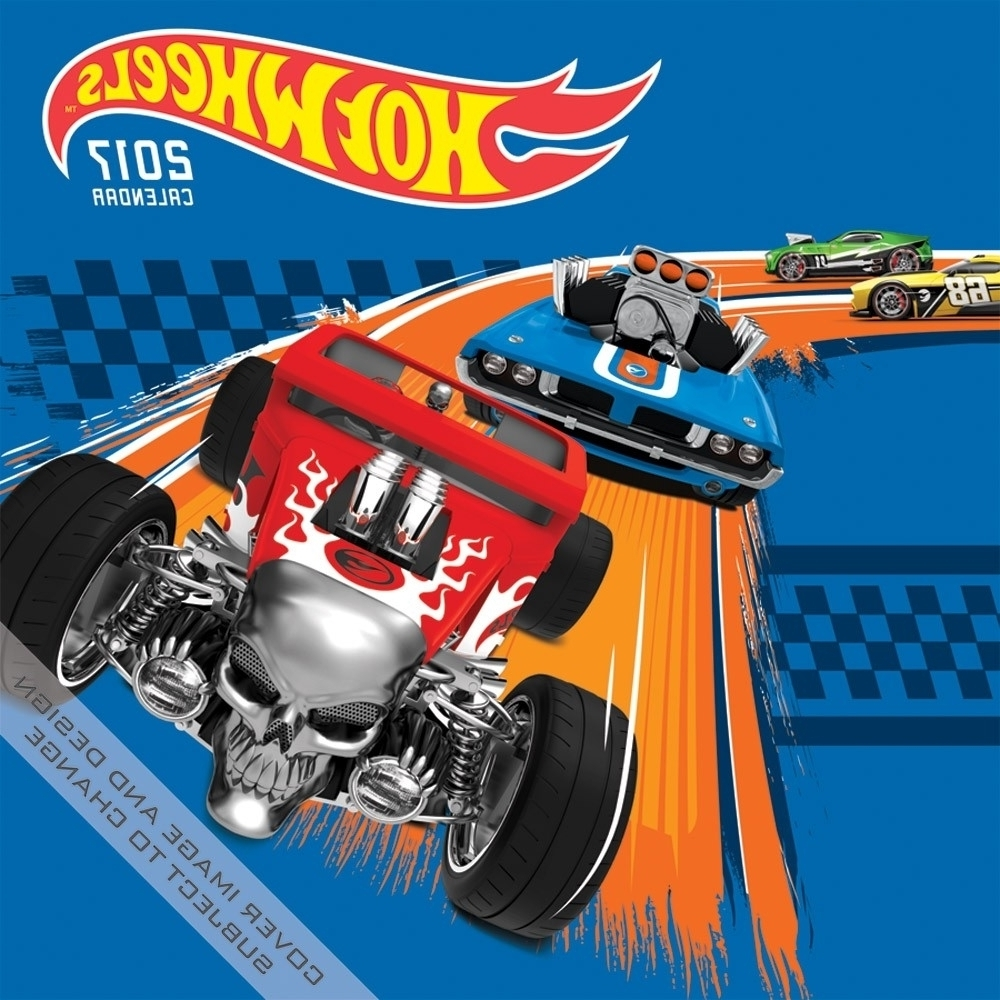 Hot Wheels Wall Art Pertaining To Most Up To Date Hot Wheels Wall Calendar:  (View 5 of 15)