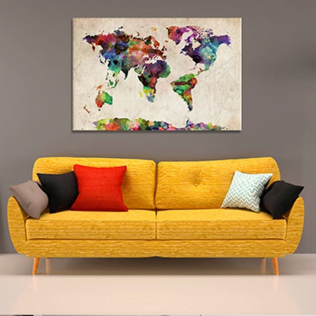 Huge Wall Art Canvas Pertaining To Trendy Wall Decor Canvas Prints Wall Art Large Canvas Prints Popular On (View 8 of 15)