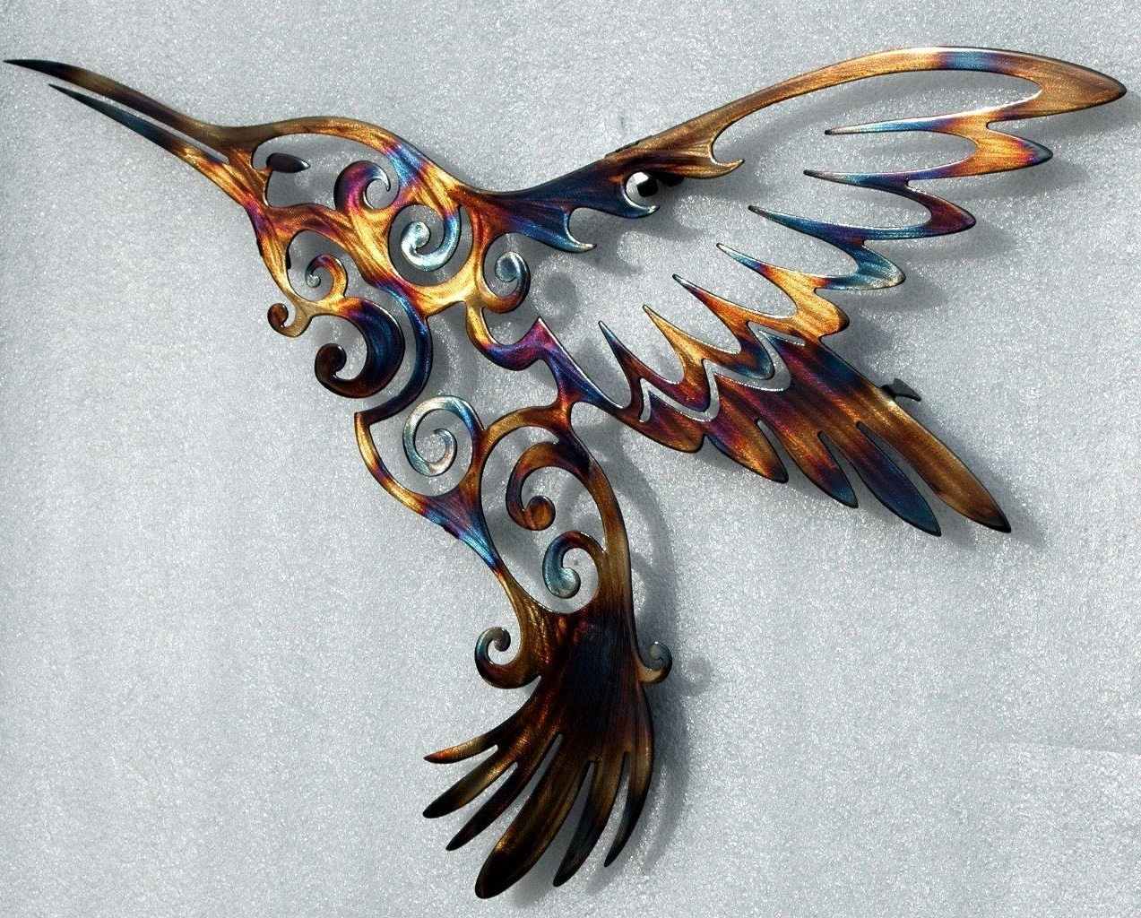 Featured Photo of Hummingbird Metal Wall Art