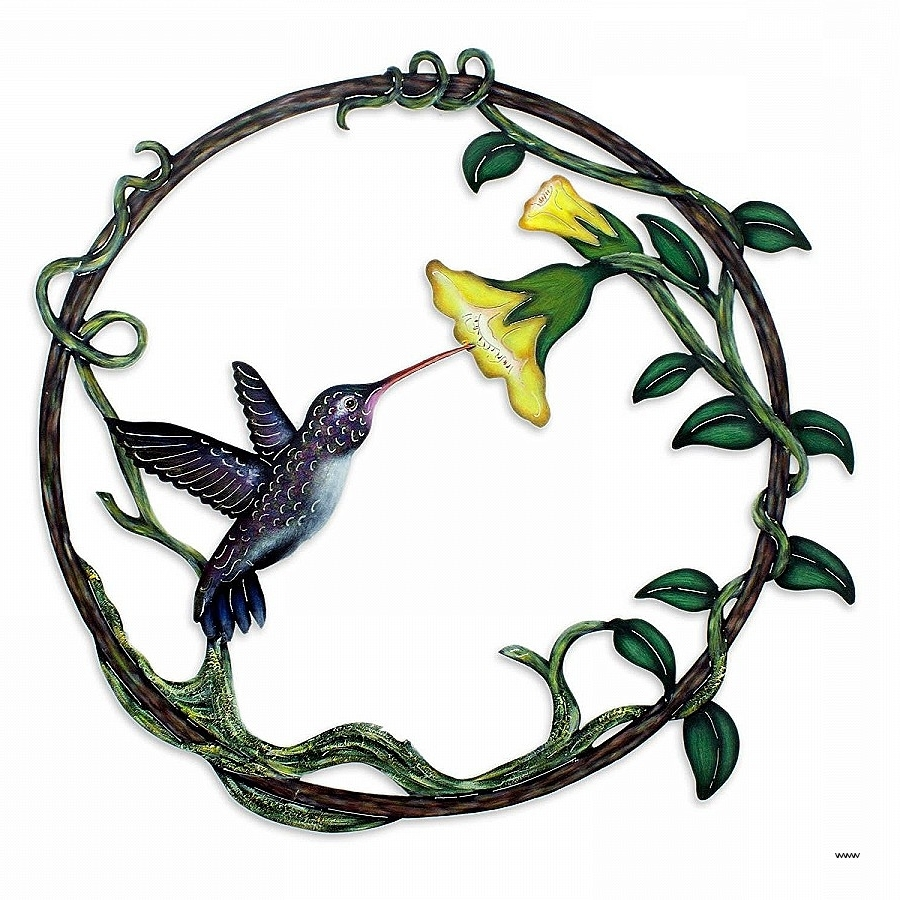 Hummingbird Metal Wall Art Lovely Lovely Western Metal Wall Art Inside Latest Western Metal Wall Art Silhouettes (View 5 of 15)