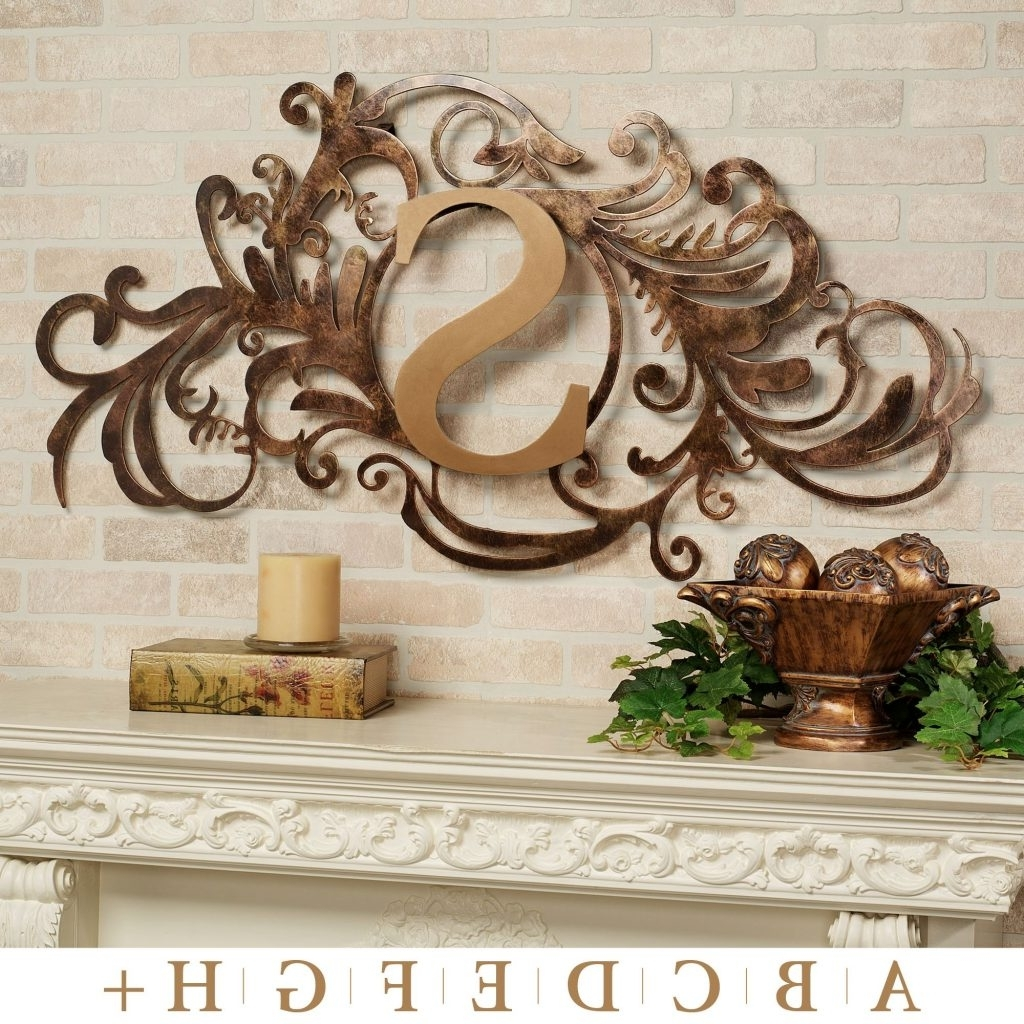 Hummingbird Metal Wall Art Pertaining To Widely Used Spectacular Inspiration Metal Monogram Wall Art Or Good Outdoor (Gallery 15 of 15)