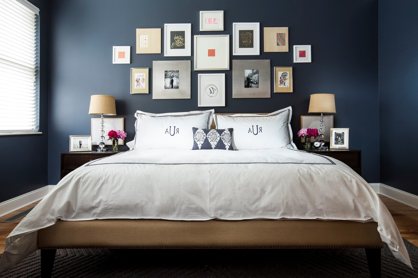 Ideas For Wall Art Over Bed • Walls Ideas Throughout Preferred Wall Art Over Bed (View 5 of 15)