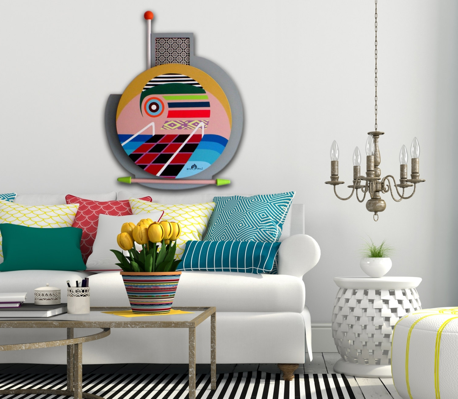 Ideas Unique Wall Decor — Radionigerialagos In 2018 Unique Modern Wall Art (View 4 of 15)