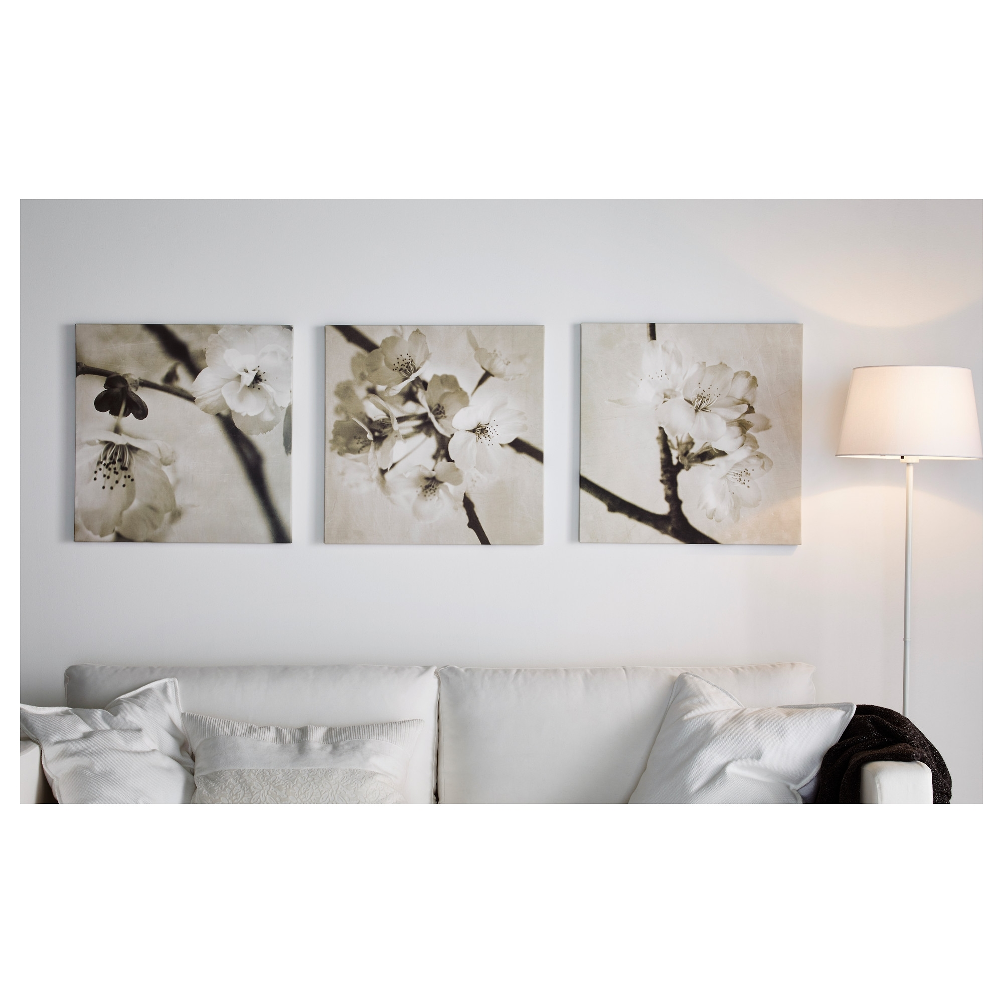 Attractive Ikea Wall Art Canvas With Popular Pjatteryd Πόστερ, Σετ 3 Τεμ. U2013 Ikea (