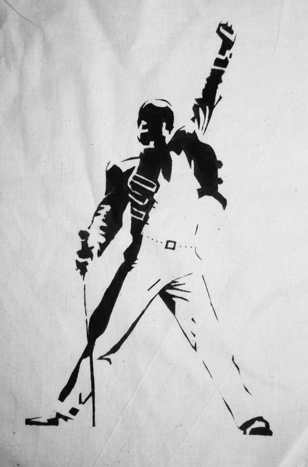 Ilustration Throughout Freddie Mercury Wall Art (View 7 of 15)