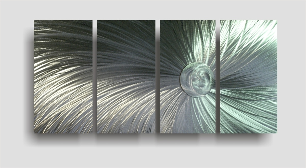 Inexpensive Metal Wall Art Pertaining To Best And Newest Wall Art: Amazing Galleries About Metallic Wall Art Wall Sculpture (View 5 of 15)