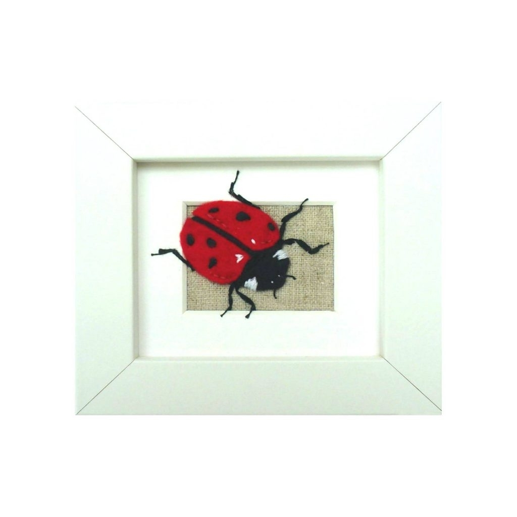 Insect Wall Art Throughout Preferred Wall Arts ~ Ladybird Wall Art Insect Wall Art Childrens Bedroom (View 11 of 15)