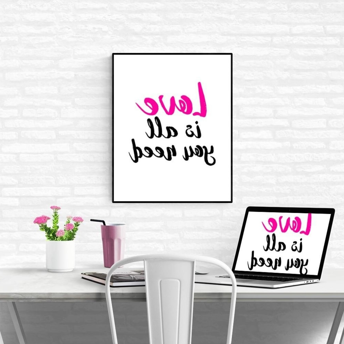 Inspirational Wall Art For Girls Within Favorite Inspirational Wall Art (Gallery 12 of 15)