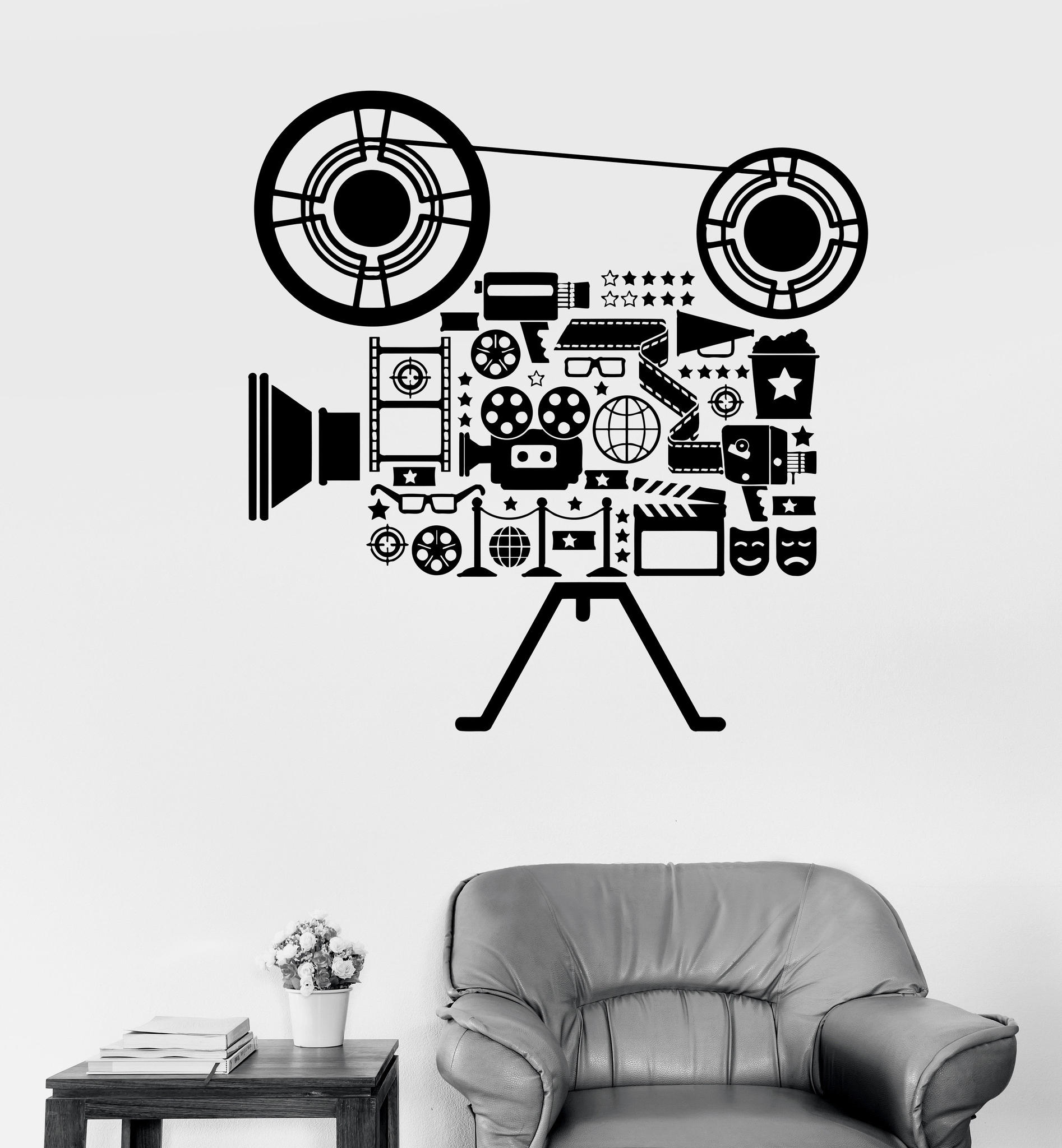Interior Design : Top Movie Themed Wall Decor Home Design Popular With Regard To Well Liked Movie Themed Wall Art (Gallery 15 of 15)
