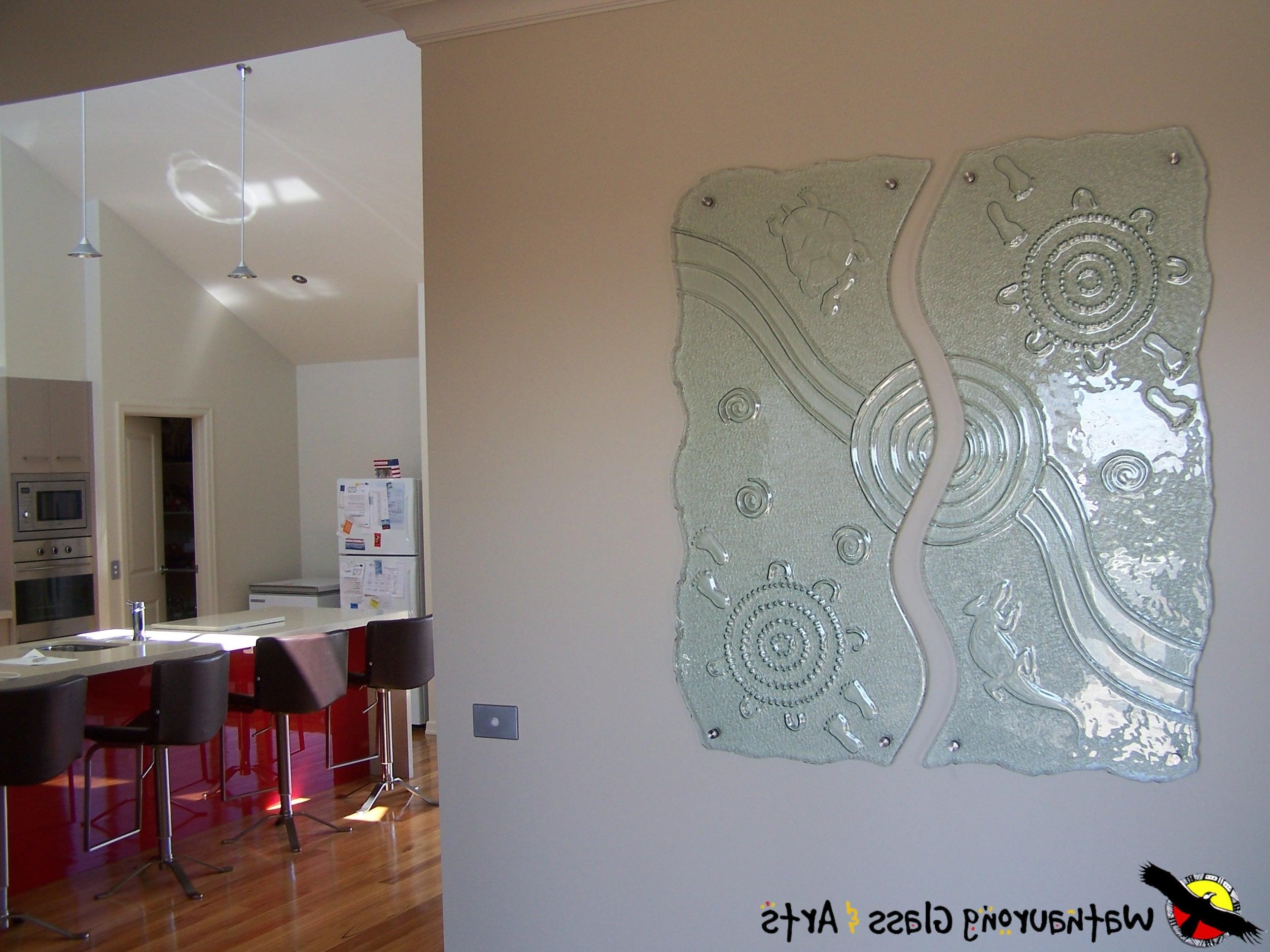 Internal Glass Wall Art – Wathaurong Glass Pertaining To Latest Glass Wall Art Panels (View 9 of 15)