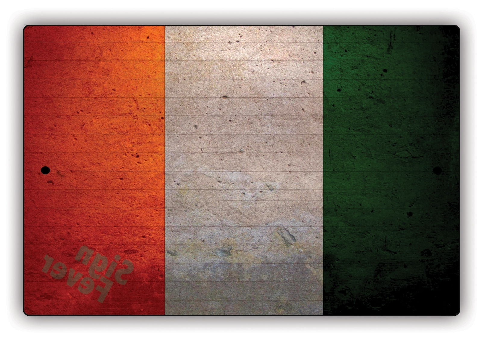 Ireland Metal Wall Art Within Latest Ireland Flag Irish Vintage Look Aluminum Metal Wall Art (View 7 of 15)