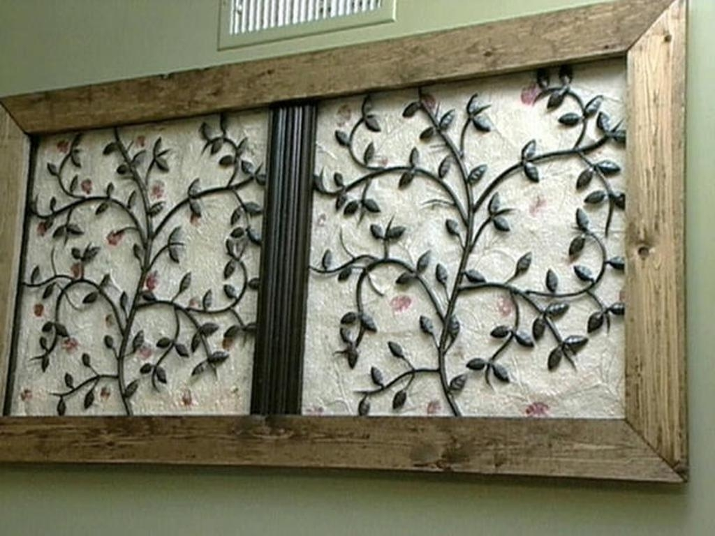 Iron Art For Walls Throughout Well Liked Combination Wood Wall Sculptures : Into The Glass – Traditionally (View 4 of 15)